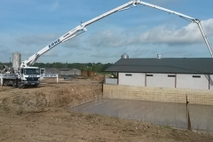Pig Tank Floor 300cbm pour, Co Cavan – Luke Bogue Piggery